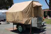 1932 Gilkie Travelier Tent Trailer in Original Condition