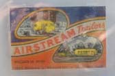 Very Cool Vintage Airstream Decal on 1936 Airstream Clipper Trailer