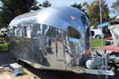 Very Shiny 1936 Vintage Airstream Clipper Travel Trailer