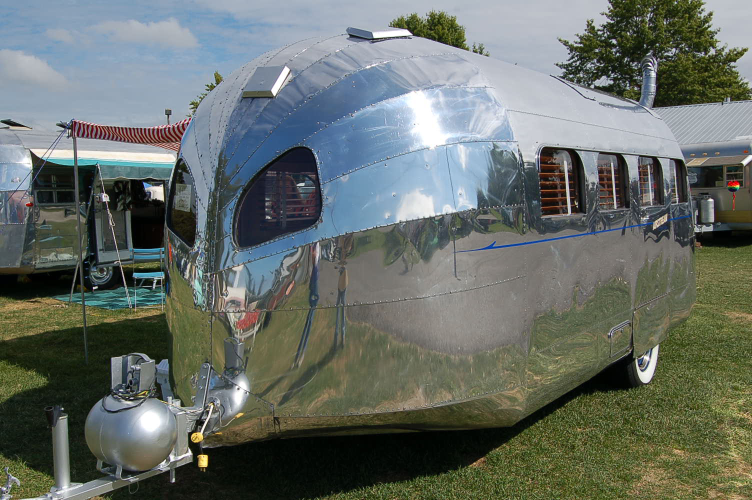 Very Rare 1936 Airstream Clipper Trailer