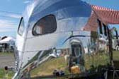 Classic 1936 Airstream Clipper Trailer With Jules Verne Windows