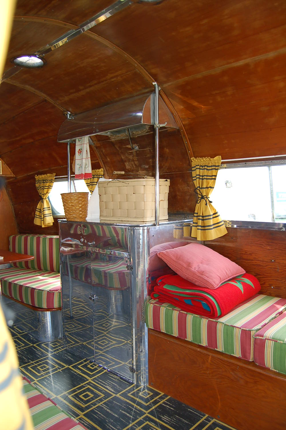 Vintage Trailer Interiors From The 1930 S From Oldtrailer Com