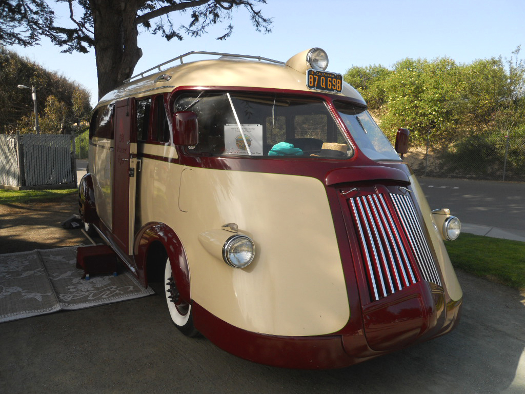 1941 Brooks Stevens Western Flyer Trailer Pictures And History From Ford Panel Delivery Truck Picture Of Amazingly Detailed Front Grille On
