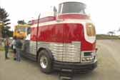One of the 12 original GM Futurliner buses from General Motors 1941 Parade of Progress
