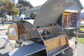 Vintage 1946 Kit Teardrop Trailer Wood Kitchen Cabinets