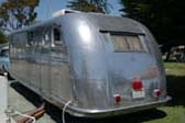 Cool Retro Rear End on 1946 Spartan Manor Travel Trailer