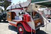 Fully Restored 1947 Kenskill Teardrop Trailer With Camping Accessories