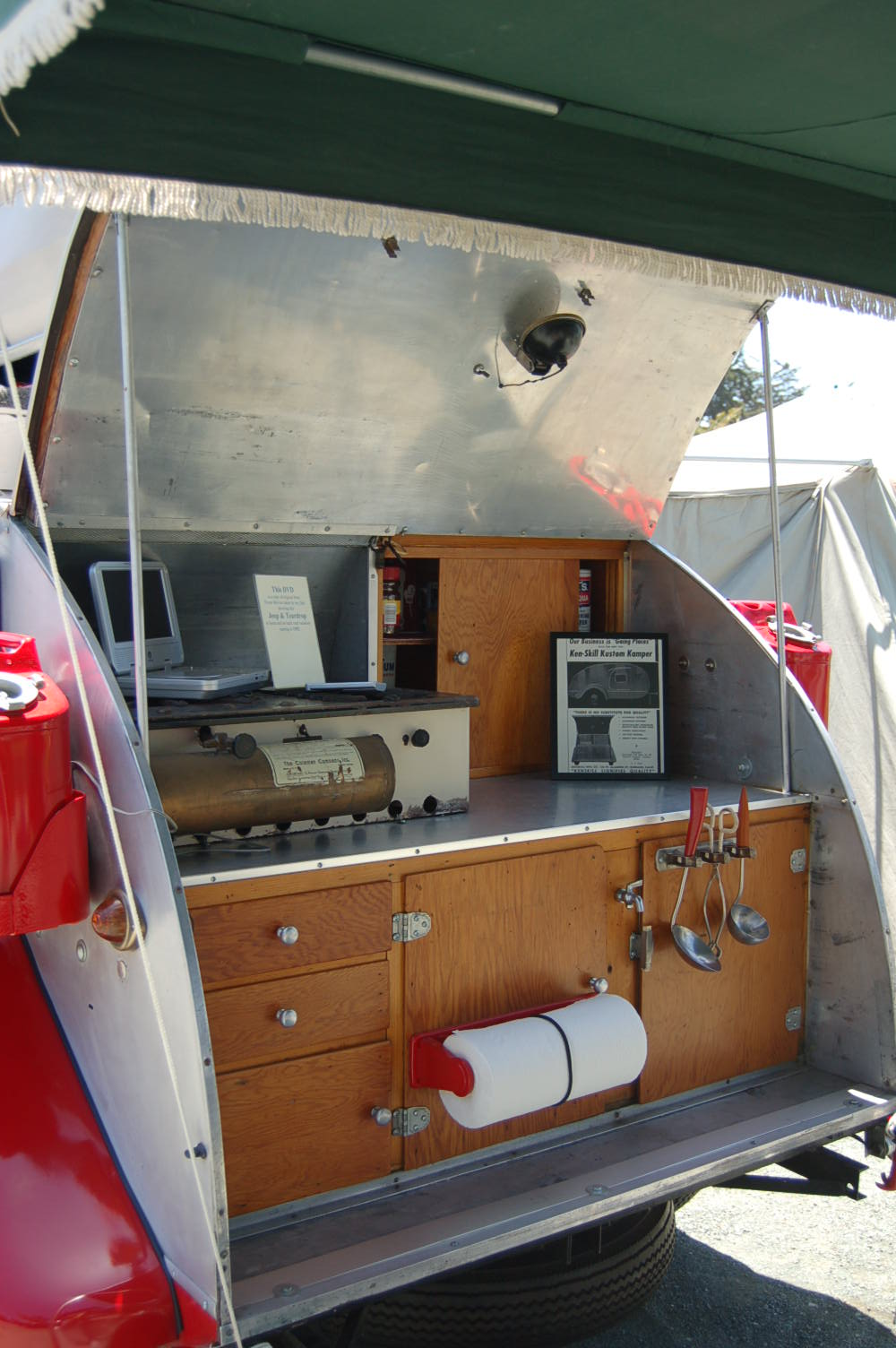 Camper Trailer Kitchen Similiar Teardrop Trailer Kitchen Design Keywords
