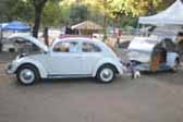 1947 Teardrop Trailer With Volkswagen Bug Parts and Styling