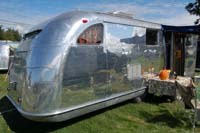 Vintage spartan trailers from the 1950's, interiors, cabinets and exteriors