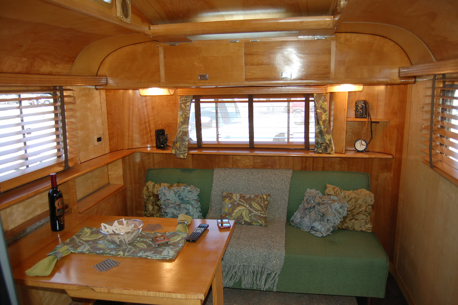 Brilliant Shasta Travel Trailer  1956 Interior  Glamping  Pinterest