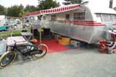 Picture of Classic 1950 Spartanette Tandem Travel Trailer With Side Awning