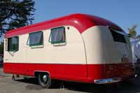 History of Vagabond Trailer Corporation and Photos of Restored Vintage Vagabond Trailers