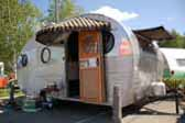 1952 Airfloat vintage trailer coach has been restored to perfect condition