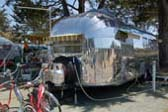 Front End of Classic 1952 Airstream Cruiser Trailer