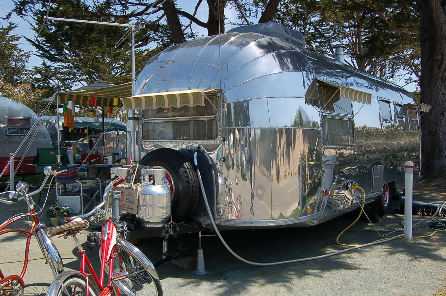 Simple Vintage Awnings Where Oh Where Airstream Forums