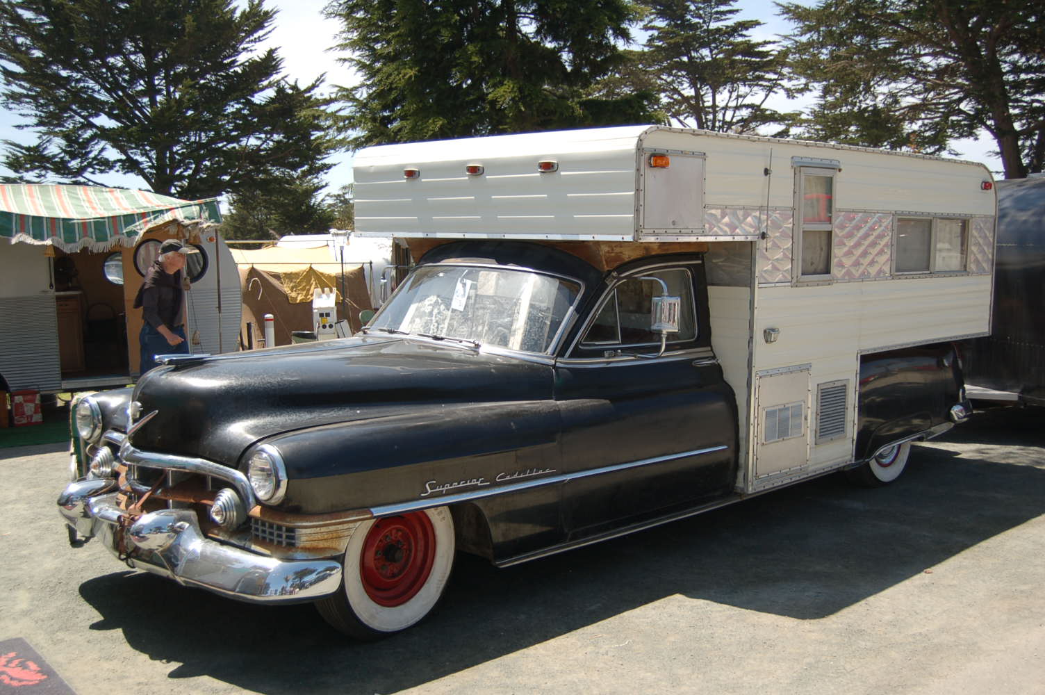 Very Unique 1952 Cadillac That Has Been Turned Into A One Of Camper