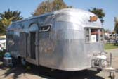 Classic 1953 Airstream Flying-Cloud Trailer in Original Un-Polished Patina