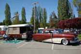 Classic 1954 Sport Ranger Tent Trailer and Matching Custom Mercury Hardtop