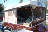 Very Rare 1954 Sport Ranger Tent Trailer in great condition