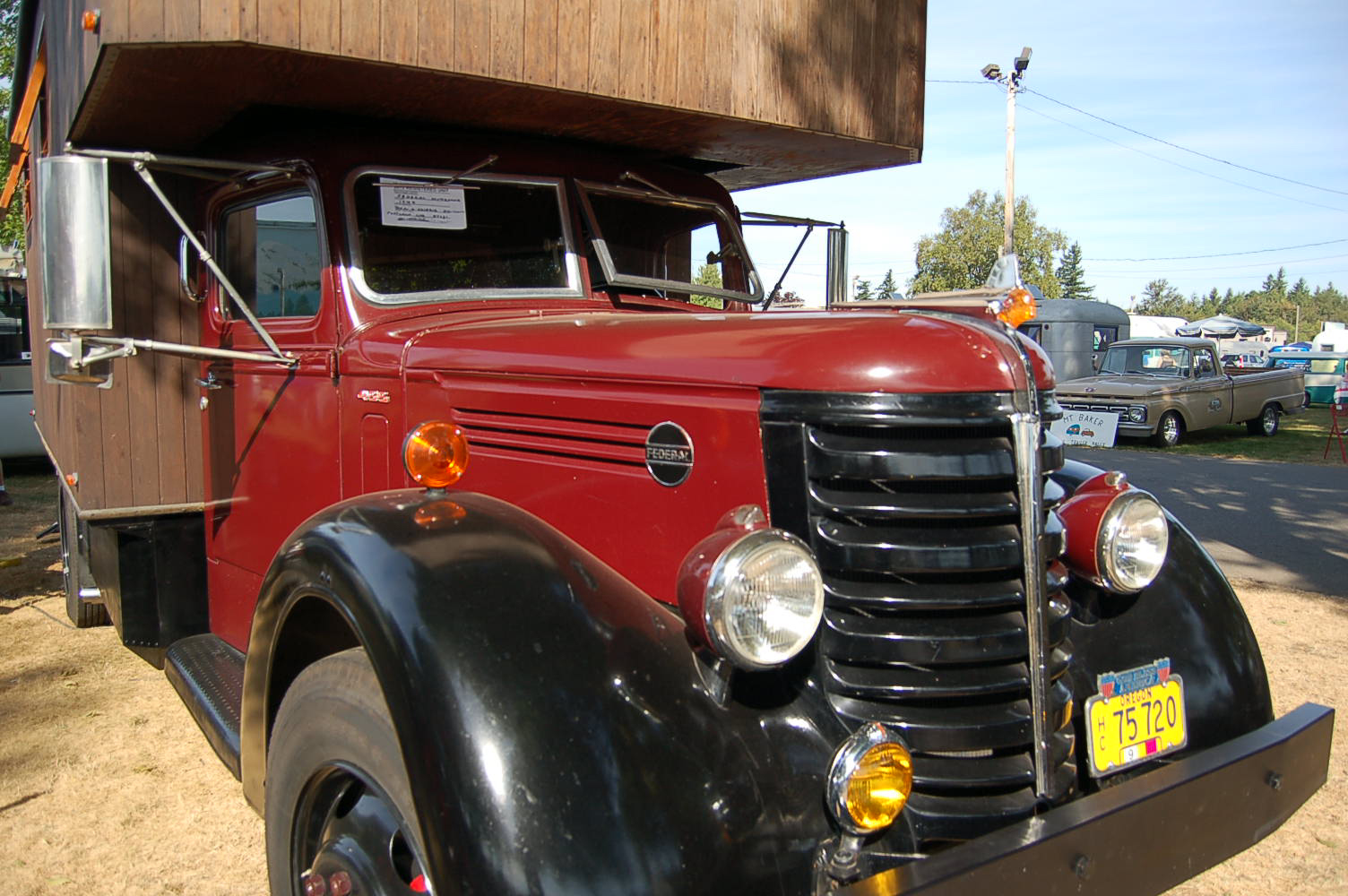 Awesome Vintage 1959 Federal Truck Based Camper Is A Beautiful And Useful Custom Trailer