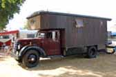 Heavy Duty 1959 Federal Truck cab and chassis with a huge custom camper built on the back