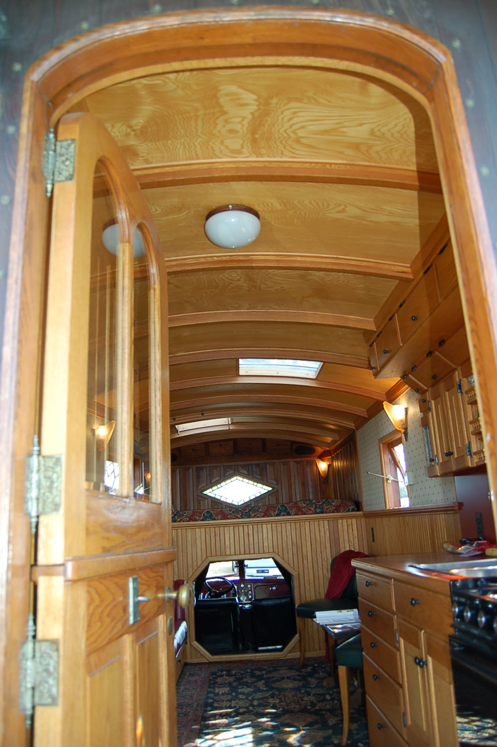 1959 Federal Truck with a custom trailer camper has beautifully designed  and crafted interior cabinets and. Vintage Truck Based Camper Trailers  from OldTrailer com