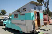 Vintage truck based campers, house cars, Camper Wagons and car based campers and trailers