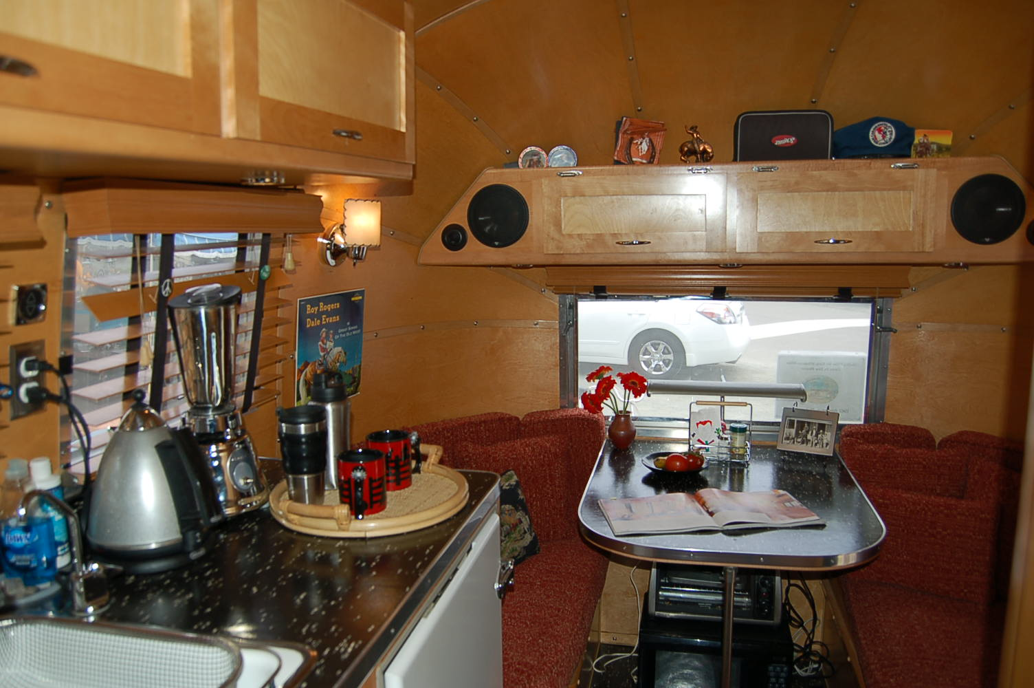 Vintage Airstream Trailer Interiors From OldTrailercom