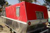 Photo of rare 1961 Holiday House 24ft. dual axle vintage travel trailer