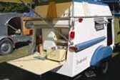 Rare 1961 Trailorboat Trailer With Compact Kitchen Area