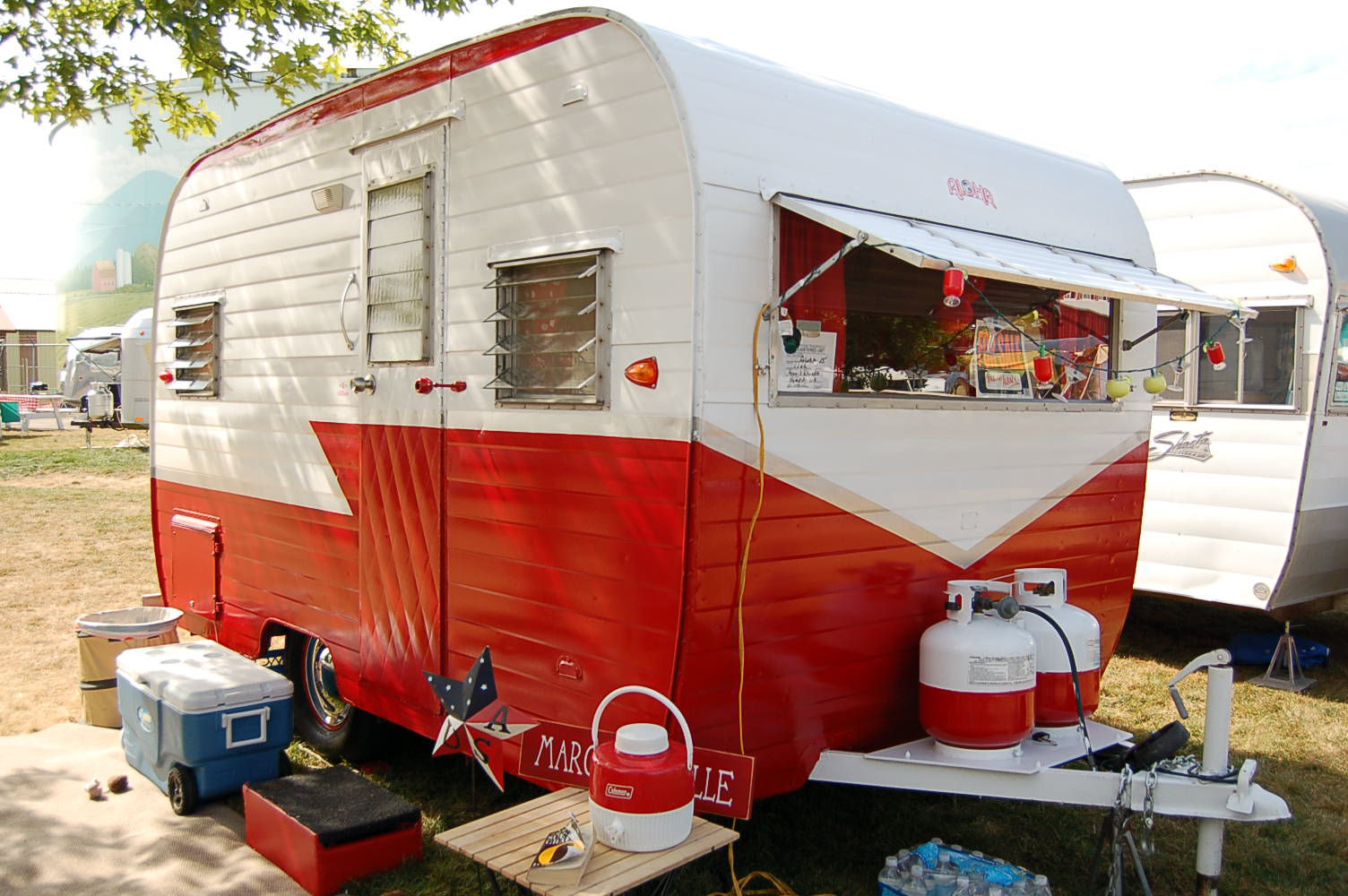 Vintage Aloha Trailer Pictures And History From