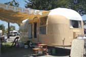 1963 Airstream Flying Cloud Travel Trailer With Painted Exterior Skin