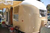1963 Airstream Flying Cloud Trailer With Low-Maintenance Painted Outside Skin