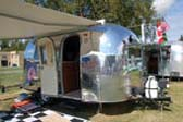 Very Shiny Vintage 1965 Airstream Caravel Trailer