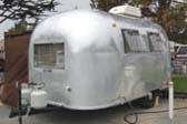 1966 Airstream Caravel Trailer With Original Patina