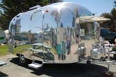 1967 Airstream Caravel Travel Trailer Buffed to a High Shine!