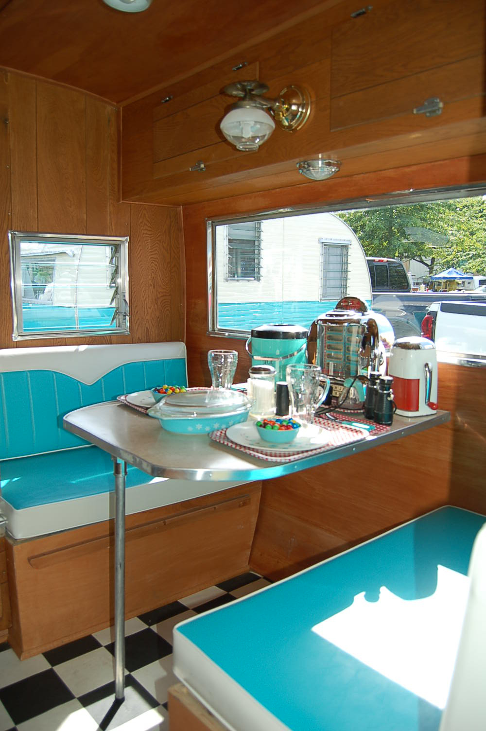 Camper Trailer Kitchen Designs Vintage Aloha Trailer Pictures And History From Oldtrailercom