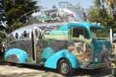 Randy Grubb's outrageous Decoliner Motorhome is a one-of-a-kind streamlined art-deco work of art
