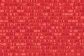 Formica Plastic Laminate retro pattern sample chip for pattern Red Ellipse #1913