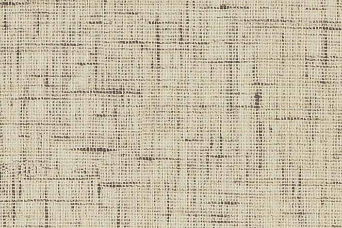 Retro formica laminate sample chip; Creme Lacquered Linen pattern #9488