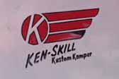 Ken-Skill KustomKamper Teardrop Trailer Side Logo