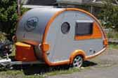 Brand New T@B Teardrop Trailers Come in Several Different Trim Colors