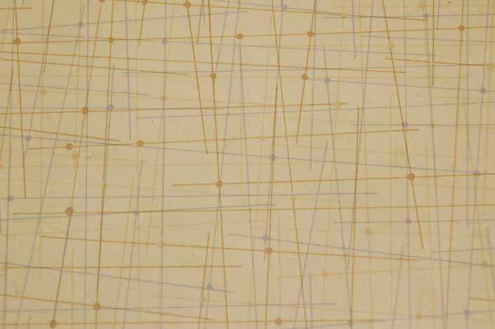 Vintage formica laminate pattern sample chip from the 1950's or 1960's
