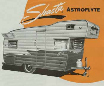 Original dimensions, features and specifications for the Shasta Astrodome Vintage Trailer