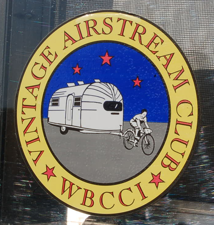 Classic Vintage Trailer Decal from the Vintage Airstream Club WBCCI