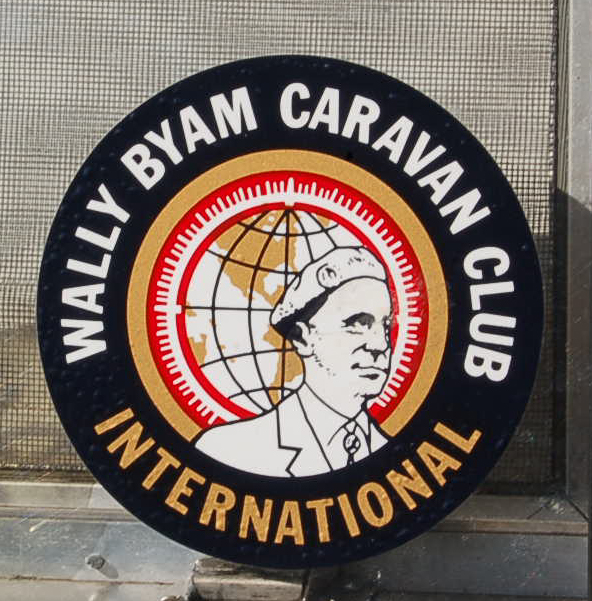 Familiar Vintage Trailer Decal from the Wally Byam Caravan Club for Airstream Trailer Owners