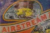 Very rare and old Vintage Trailer Decal from Airstream Trailer Company in Los Angeles, California