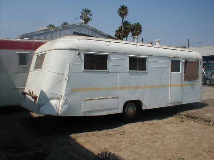 Vintage Trailer Junkyards From Oldtrailer Com