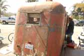 Very rare 1936 Covered Wagon trailer in original condition